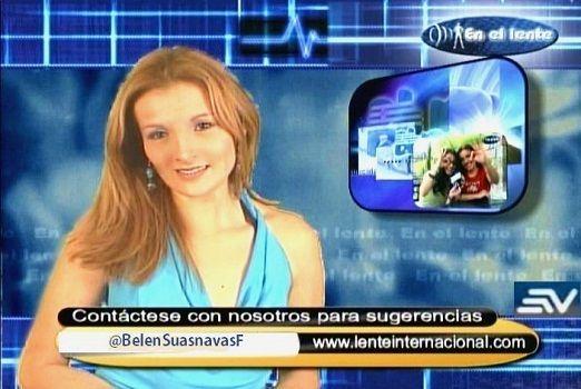 Belén Suasnavas Fonseca Ecuavisa