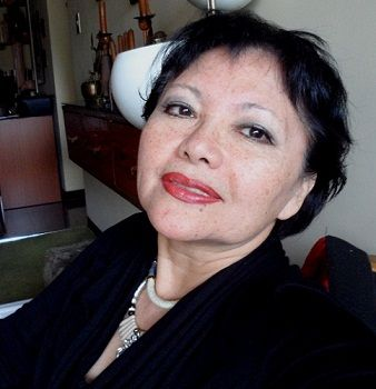 Blanca Miosi en perumira con Jaime William