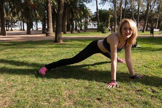 Fitness con Rebeca Crucera Fernández