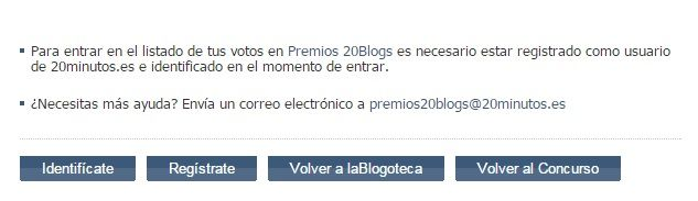 Premios 20 Blogs 20minutos.es PerúMira