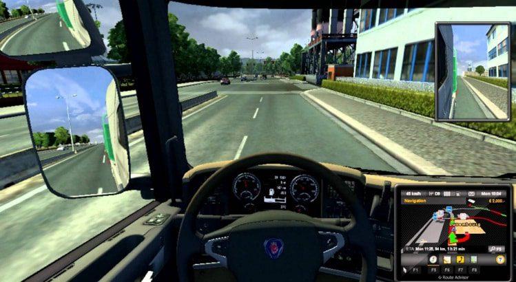 euro truck perumira manejar auto