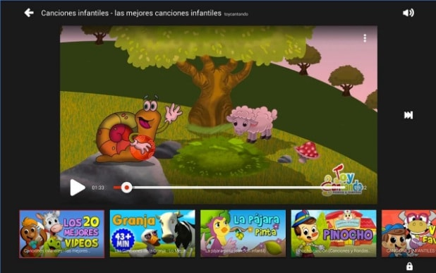 Youtube Kids Perú