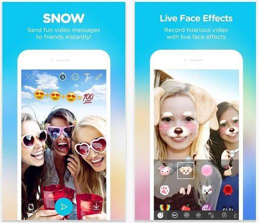 snow red social