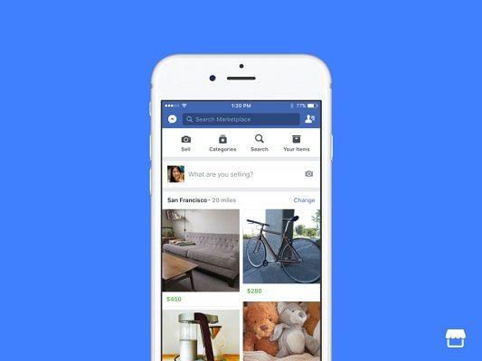 Facebook introduce MarketPlace