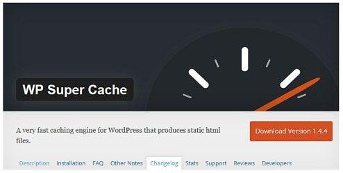 plugin wp super cache