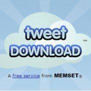 tweet download y tweet delete