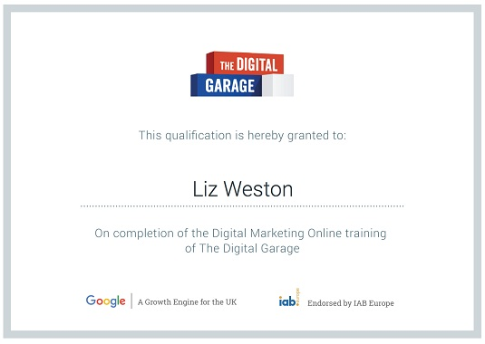 certificación gratis google