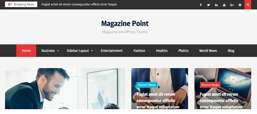 theme magazine point