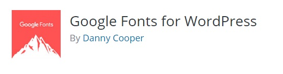 google fonts wordpress