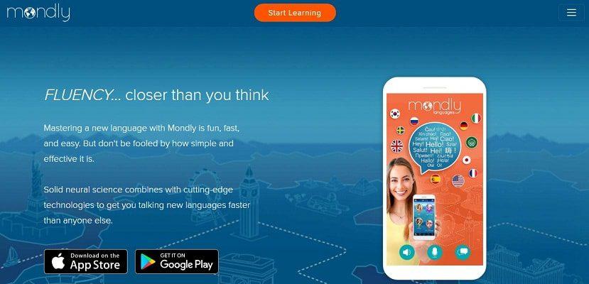 Mondly app