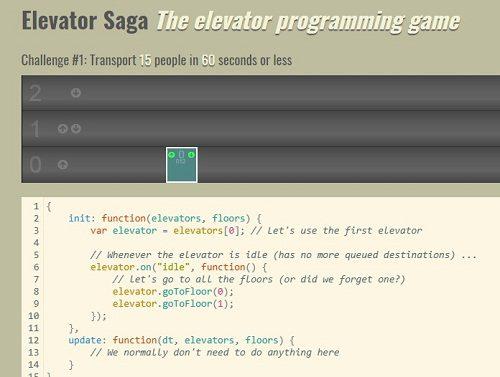 Elevator Saga