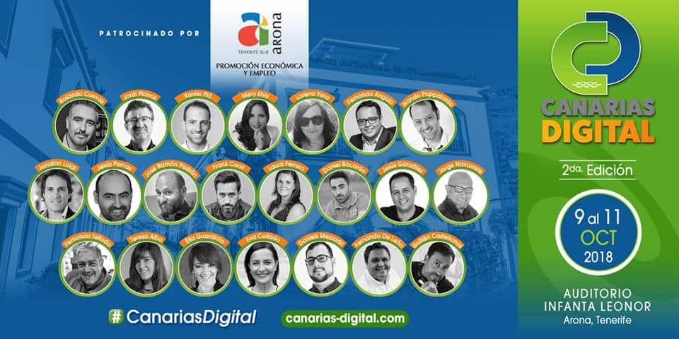 ponentes canarias digital