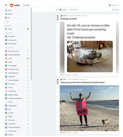 Reddit es mejor