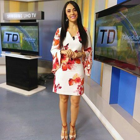 Carina Velásquez - Presentadora Telediario