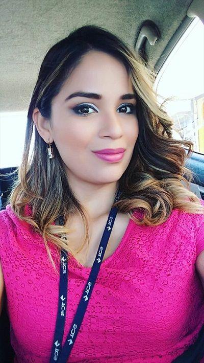 Periodista Karla Torres