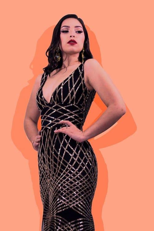 Miss Model Look
