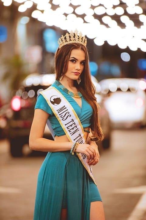 Ailin Nery Huerta - Miss Teen Turismo 2019 Paraguay