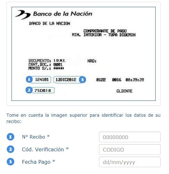 Banco de la Nación Pasaporte Electronico